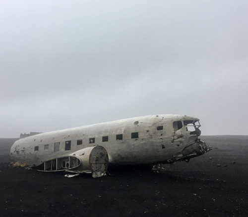 US Navy DC3 Crashed at Sólheimasandur, Iceland