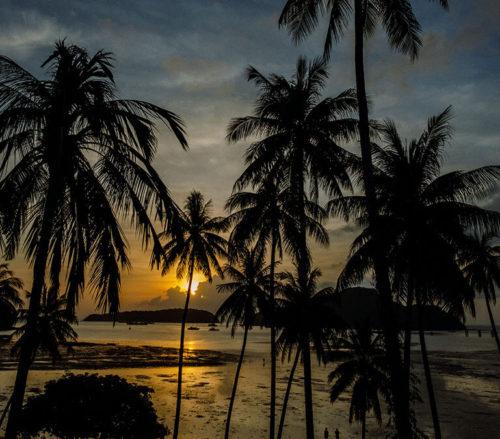 Sunrise Time-Lapse in Phuket, Thailand