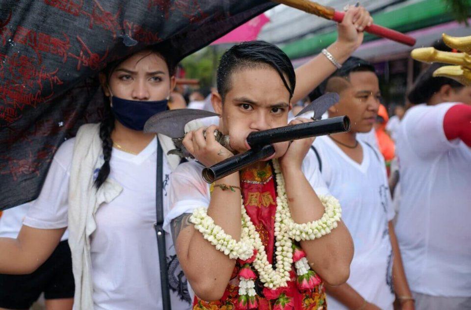 Ngan Kin Jeh Vegetarian Festival, Phuket, Thailand