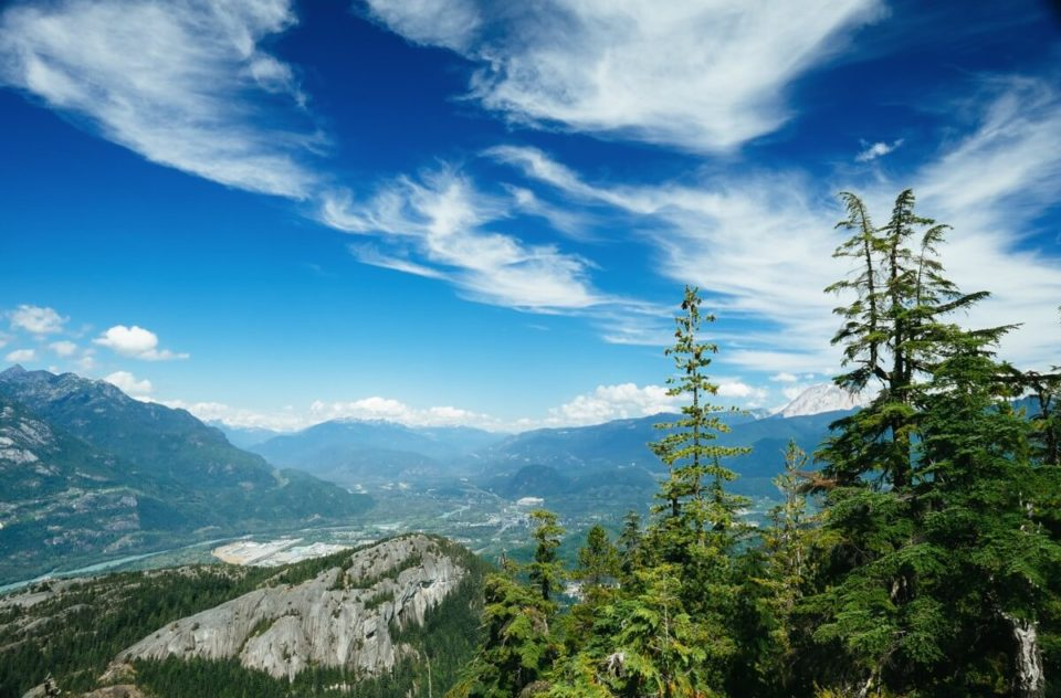 Sea To Sky Summit, Squamish, British Columbia, Canada