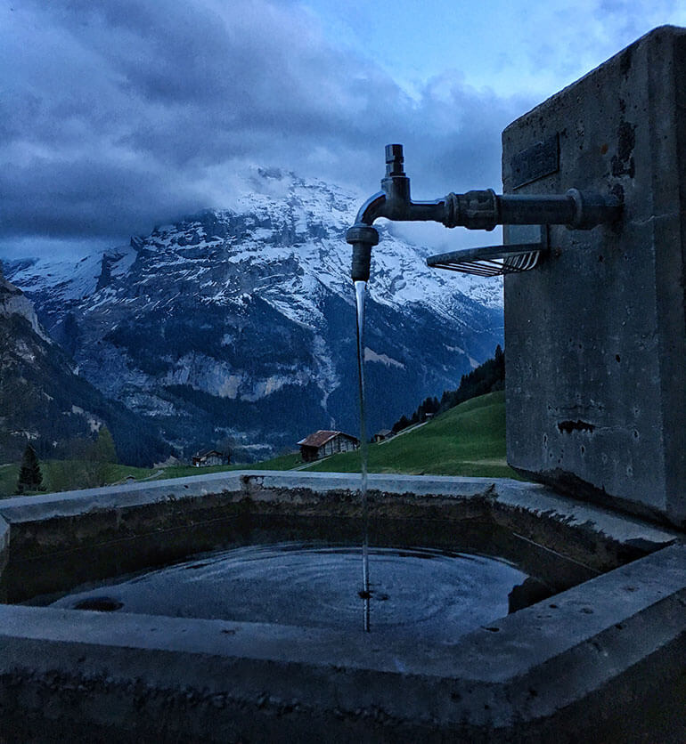 Fresh Water in Switzerland