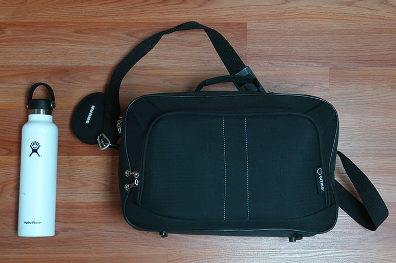 5 Cities 19L Personal Bag for United Flights